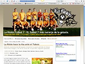 Nueva web temporada 2007-2008