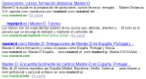 Resultados en Yahoo.es